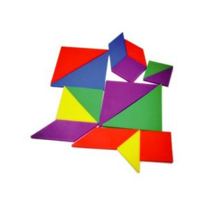 Multilateral Tangram (50pcs)