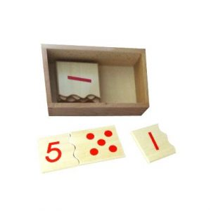 Number & Counter Matchup Puzzle