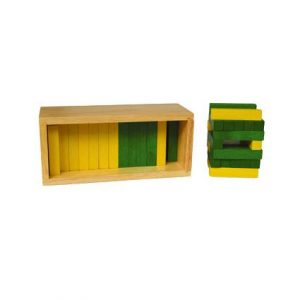 Numerical Rods (Yellow & Green)
