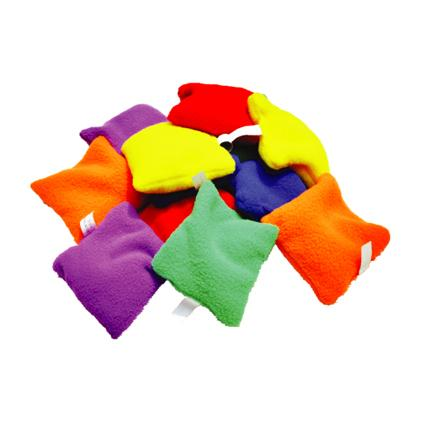 """Polyester Spun Polar Fleece Beanbags 4"""""""