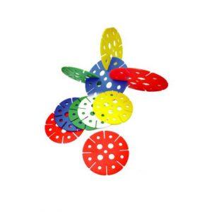 Round Flower 10cm (50pcs)