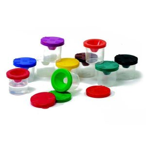 10 COLOUR PAINT POT STAND
