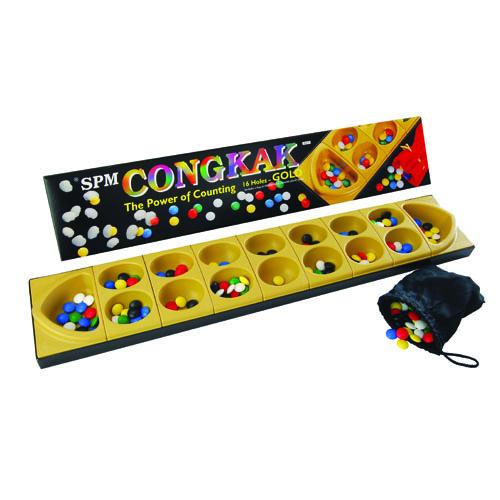 CONGKAK - 16 HOLES GOLD
