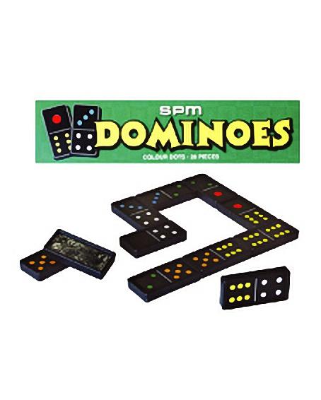 DOMINOES - COLOUR DOTS