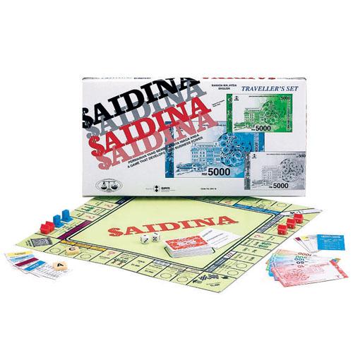 SAIDINA - TRAVELLER