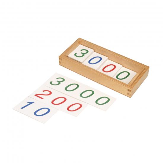 Small Number Card (1 3000)