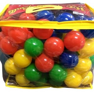100 PCS (70MM) COLOUR BALL
