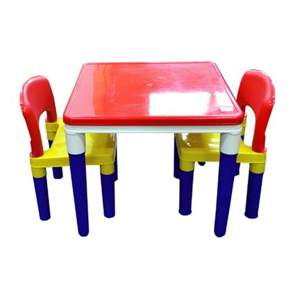 Table & Chairs with Block Set
