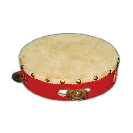 Tamborine (Red colour)  6""