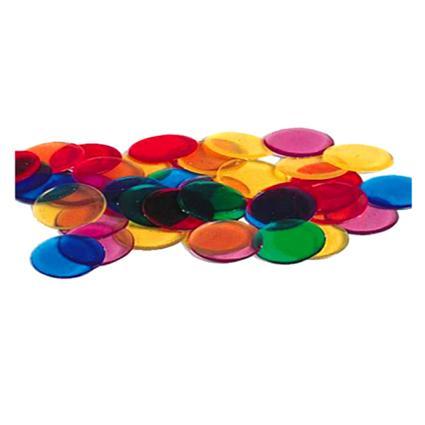 Transparent Quarters Counters (1000pcs)