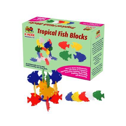 Tropical Fish Blocks (144 pcs)