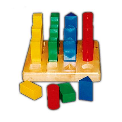 Geometric Play Board (16pcs)