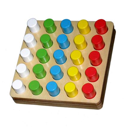 Round Geometric Play board (25pcs)