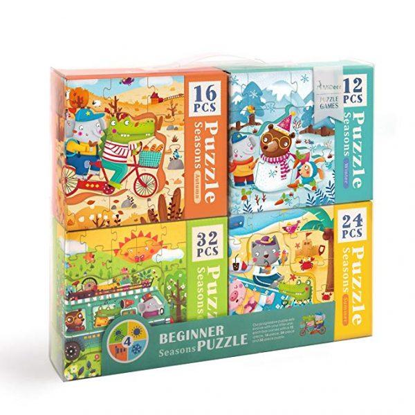 4 BOXES SET PUZZLE (SEASON)