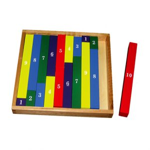 Colour Wooden Number Rod