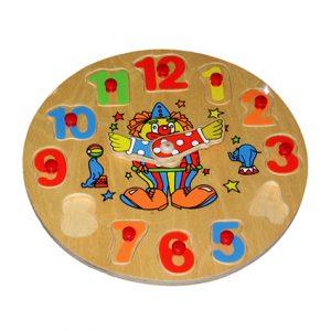 Round Clock Knob Puzzle