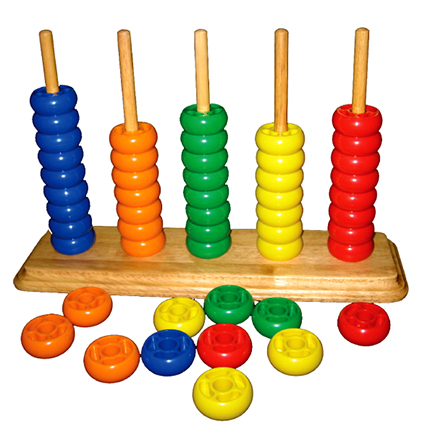 Abacus Beads (50pcs)