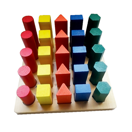 Geometric Play Board