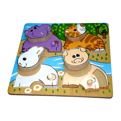 Chuncky Puzzle Animals (I)