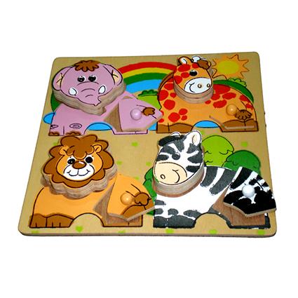Chunky Puzzle Animals (II)
