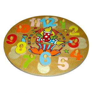 Round Clock Clown
