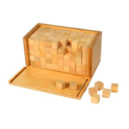 Wooden Cubes For Volume